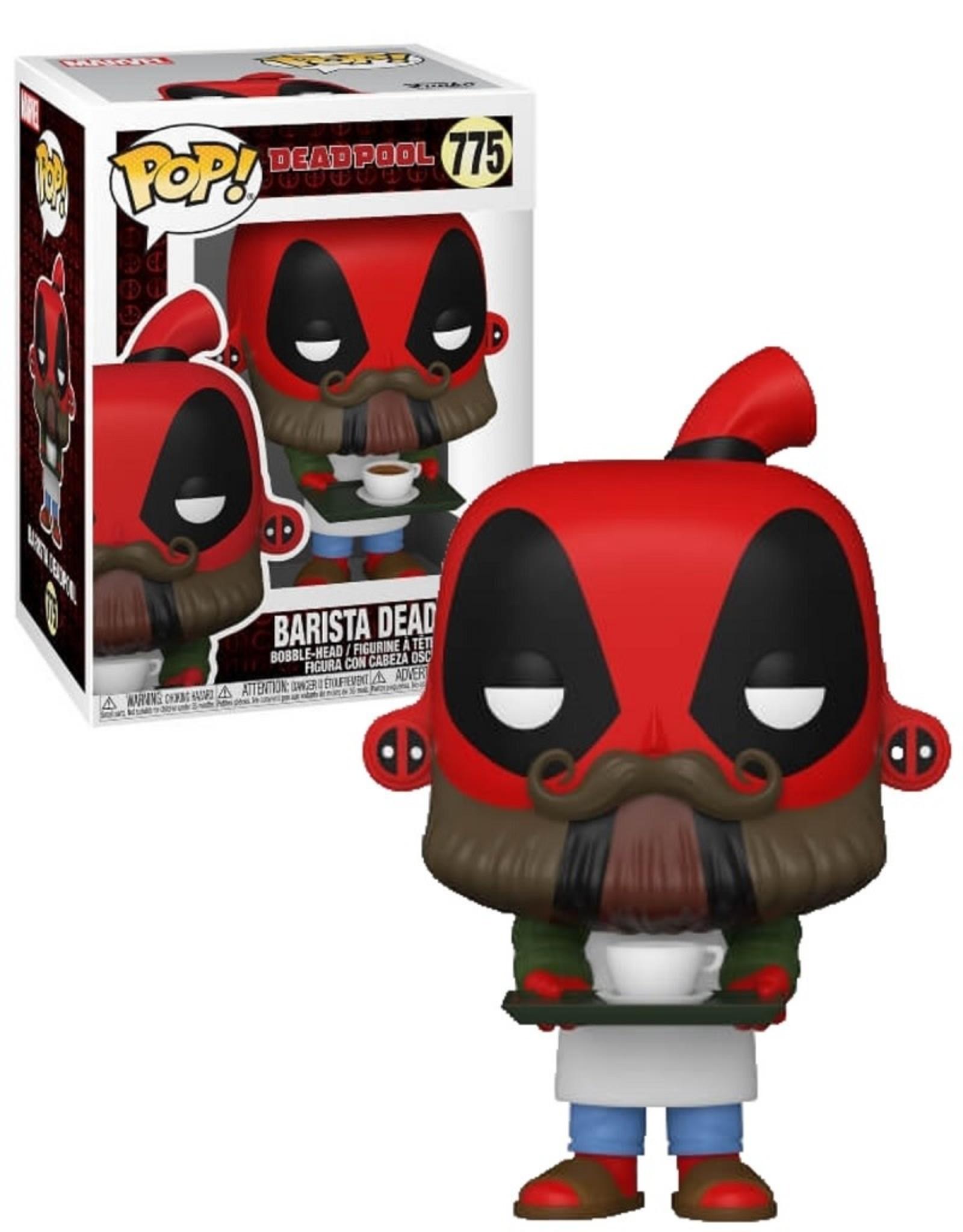 Marvel 775 ( Funko Pop ) Barista Deadpool