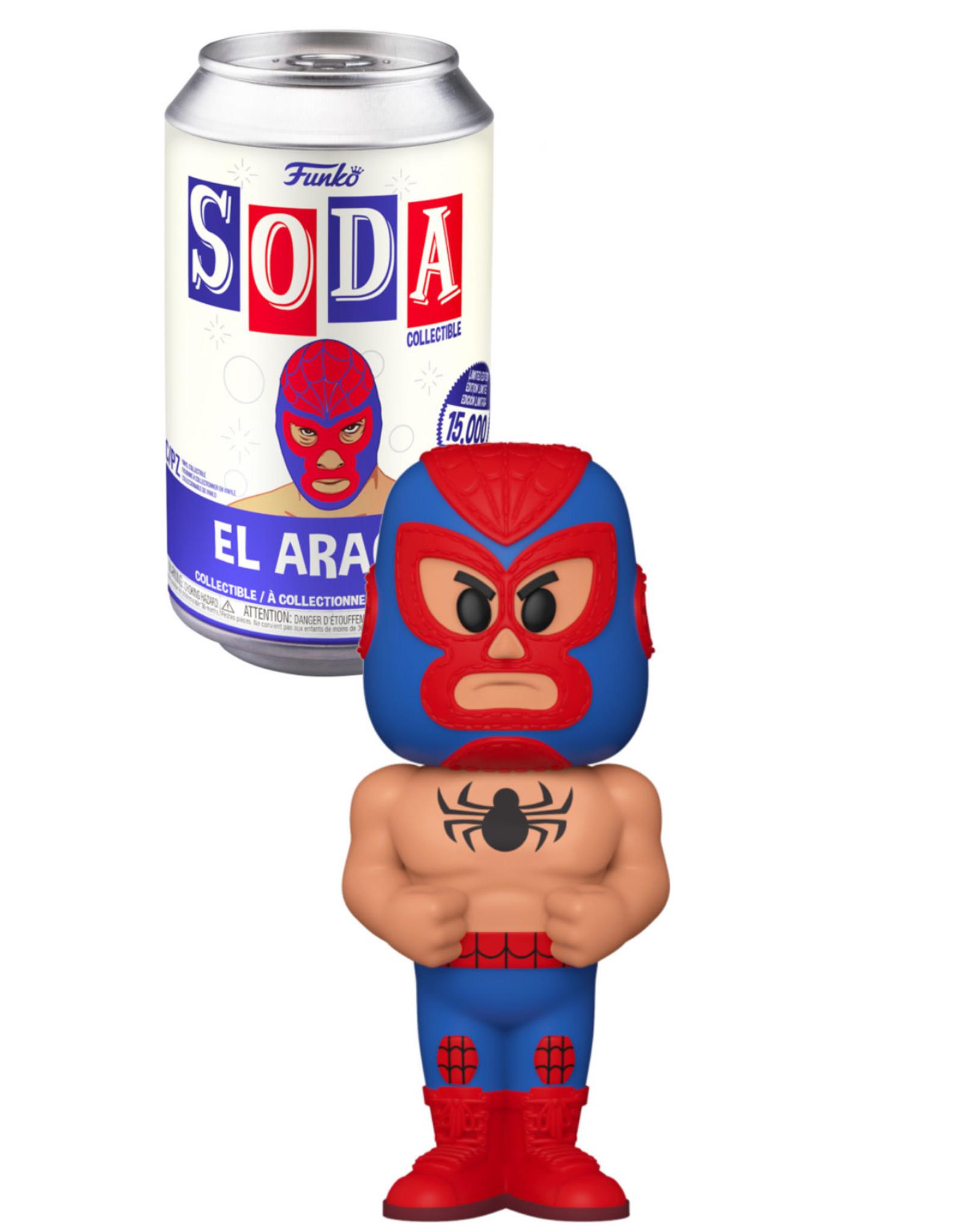 Funko Lucha LIbre ( Funko Soda ) El Aracno