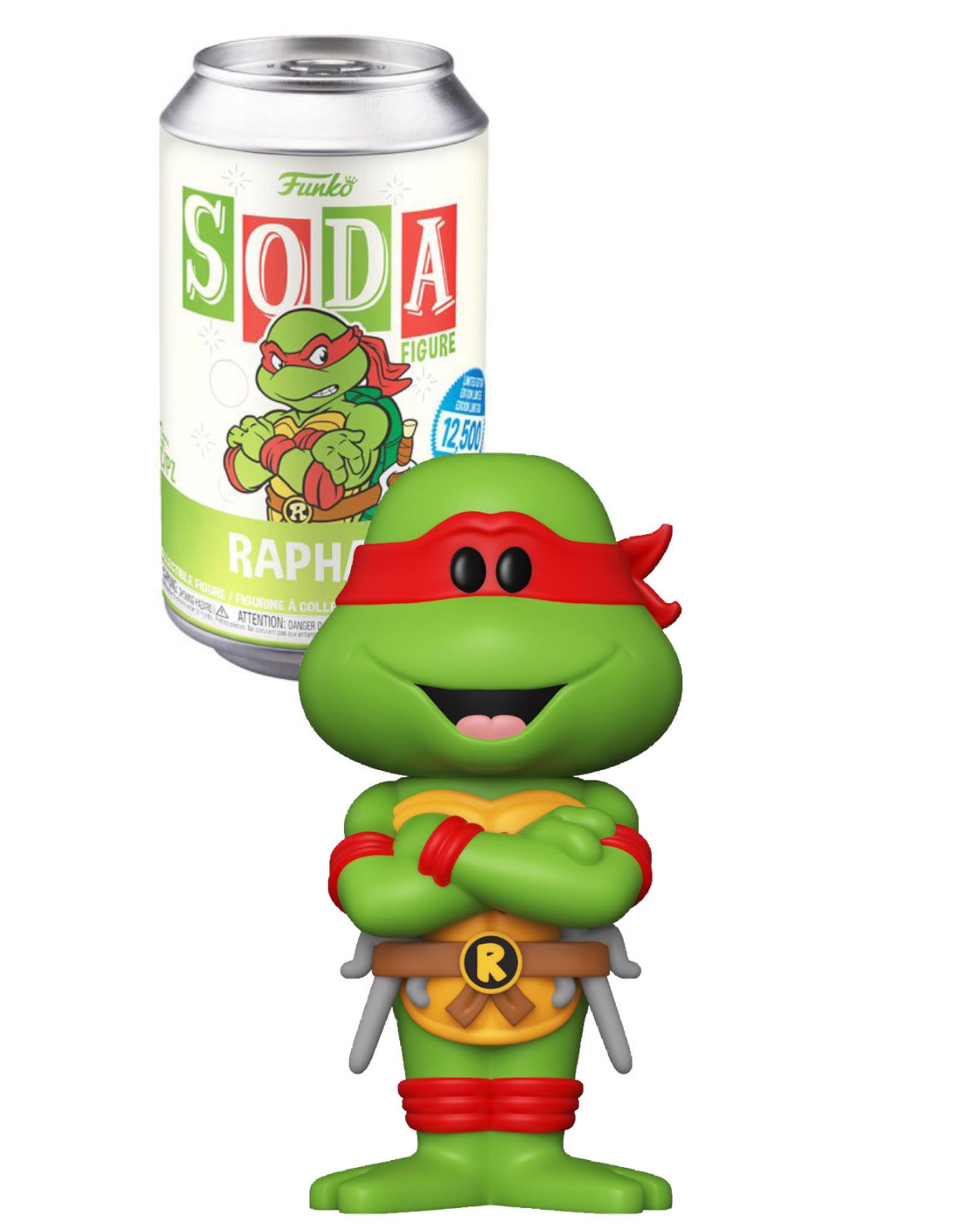 Teenage Mutant Ninja Turtles  ( Soda Pop ) Raphael