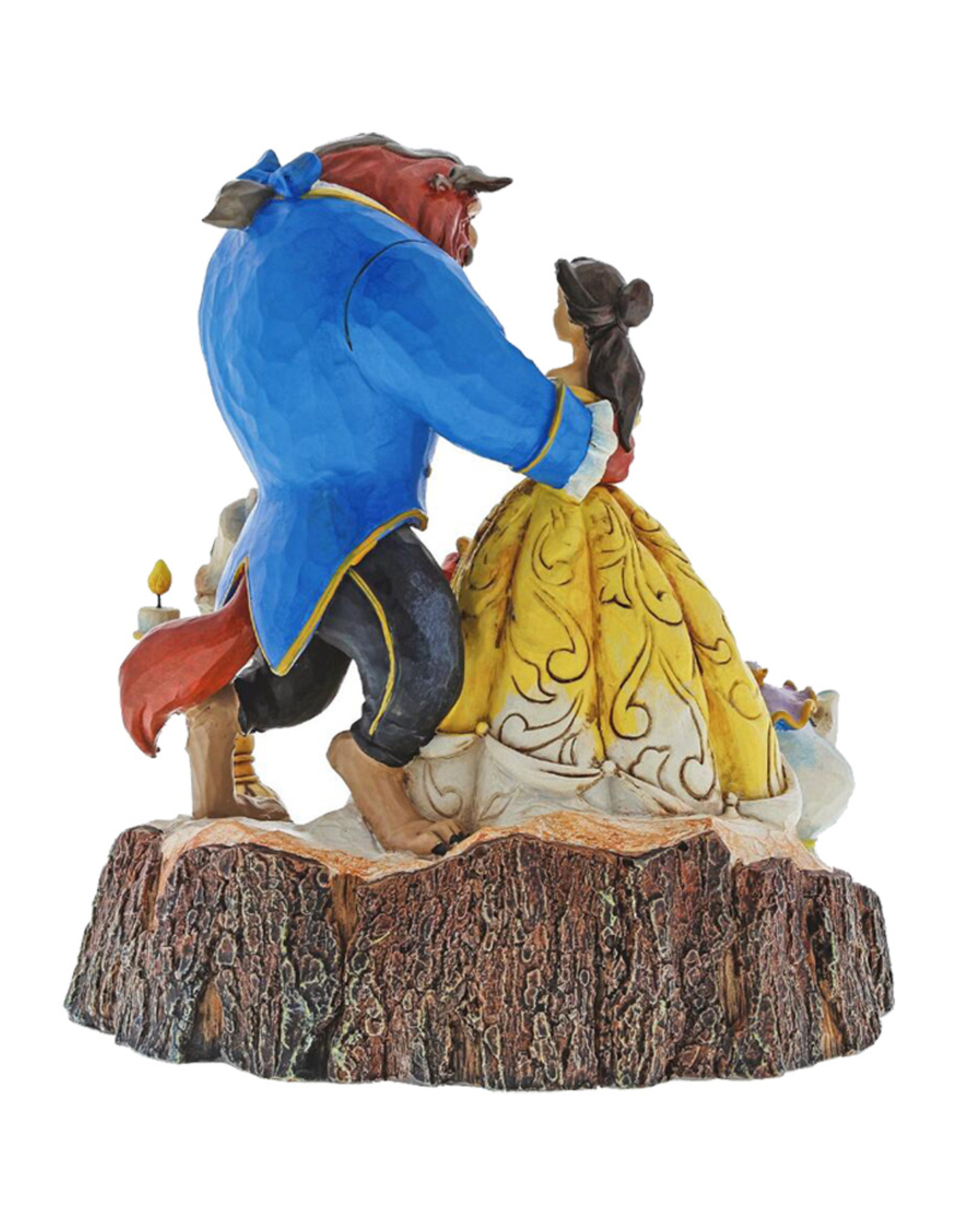 Disney Disney ( Disney Traditions Figurine ) Beauty and The Beast & Friends