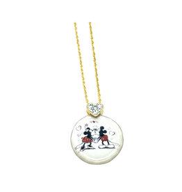 Disney Disney ( Pendentif ) Mickey et Minnie Amour Intemporel