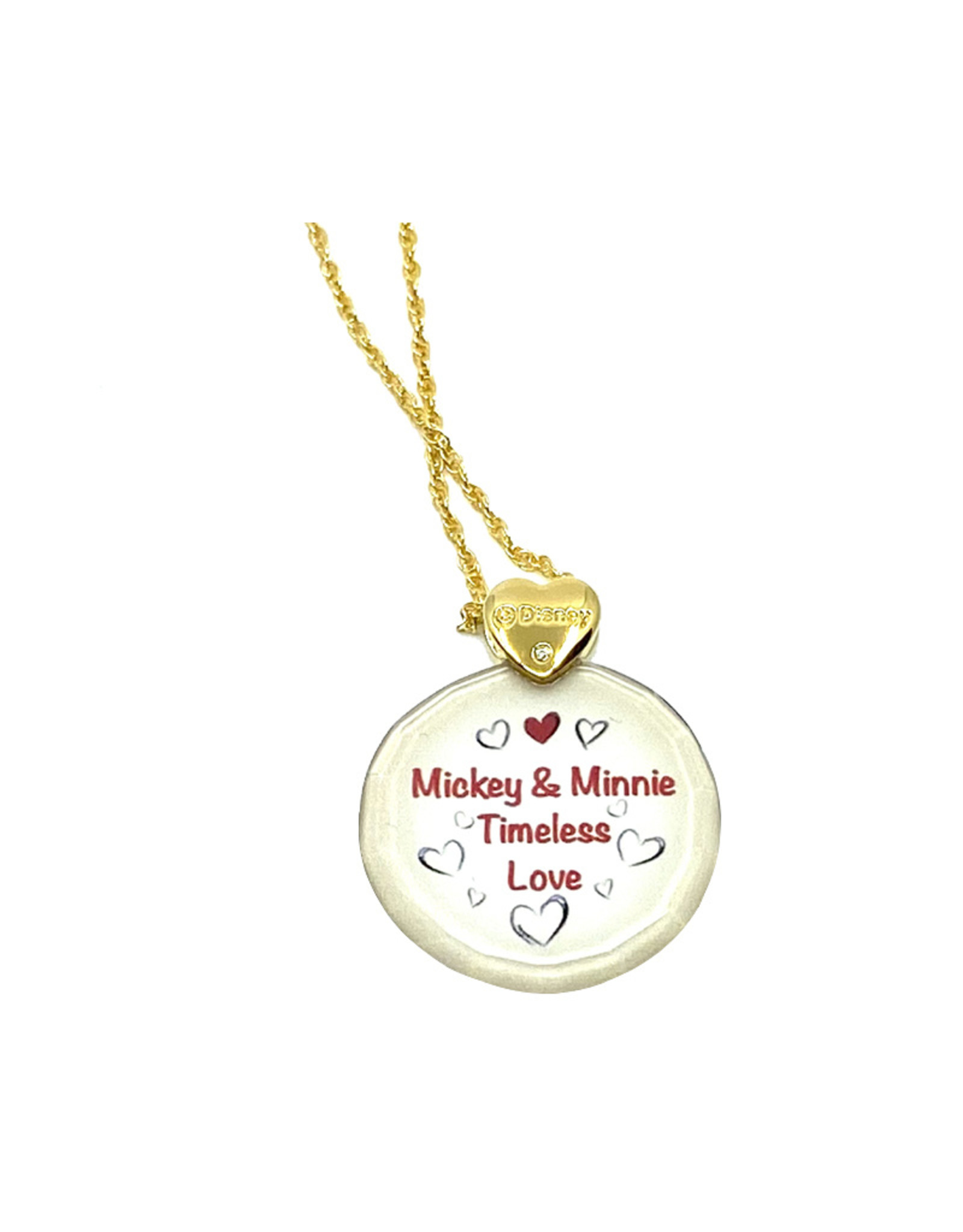 Disney Disney ( Pendant ) Mickey and Minnie Timeless Love