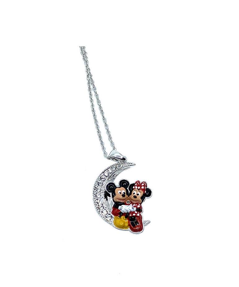 Disney ( Pendant ) Mickey and Minnie Moon