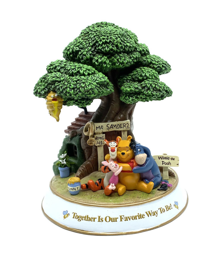 Disney ( Winnie The Pooh Diorama ) Together Is Our Favorite Way To Be