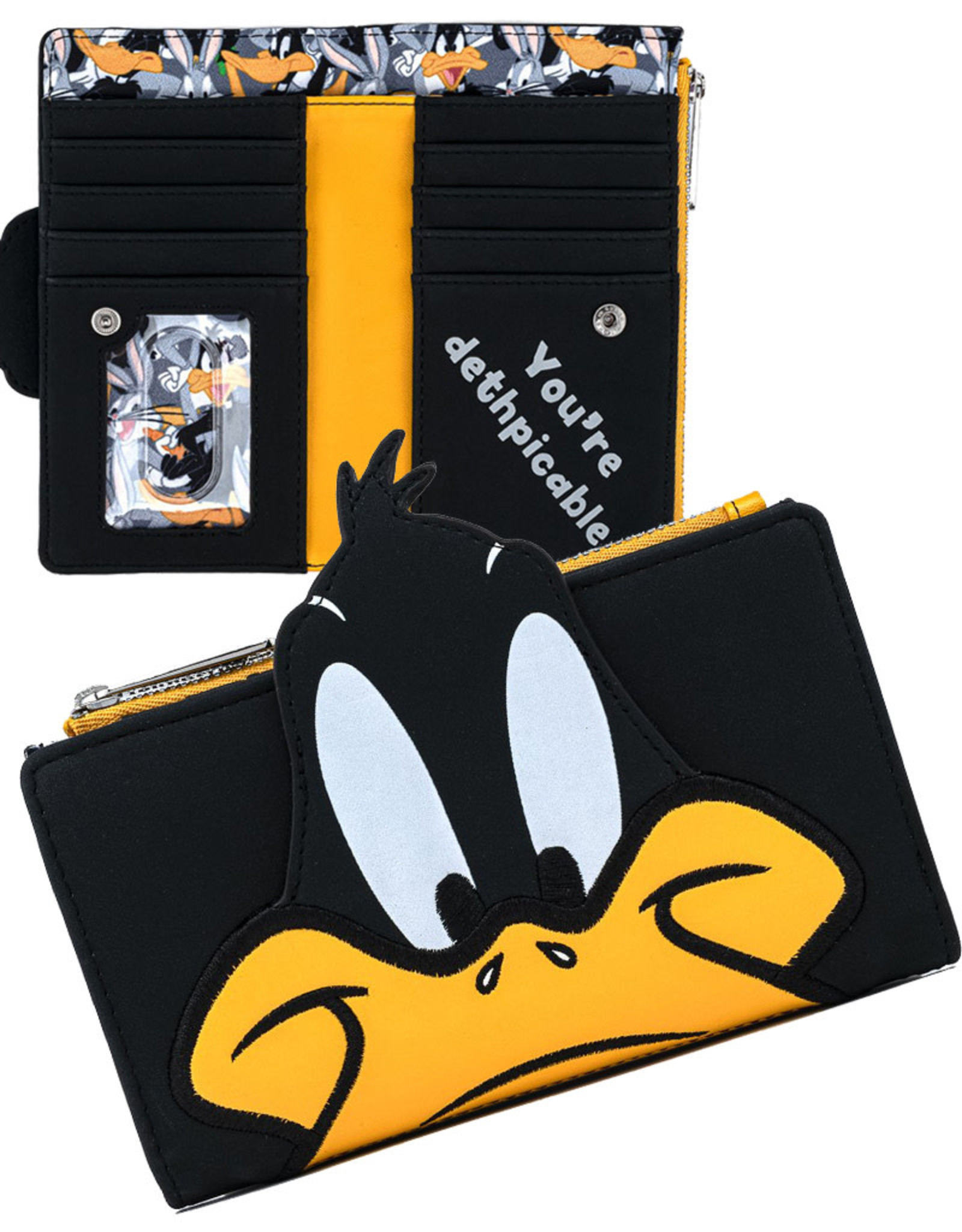 Looney Tunes ( Loungefly Wallet  ) Daffy Duck
