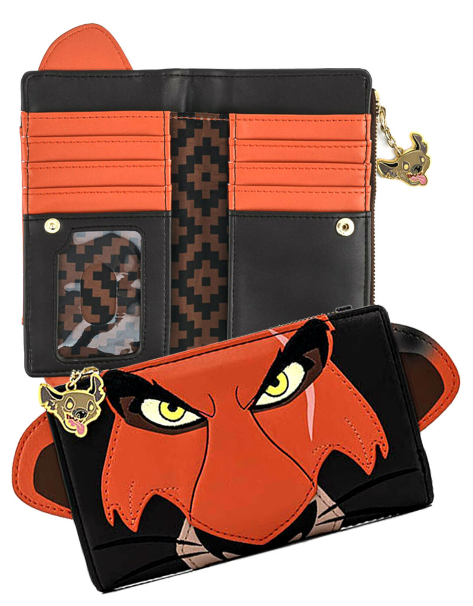 Disney (  Loungefly Wallet ) The Lion King '' Scar ''