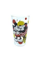 Disney ( Glass ) Mickey & Minnie