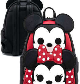 Disney Disney ( Mini Sac à Dos Pop Loungefly ) Mickey & Minnie