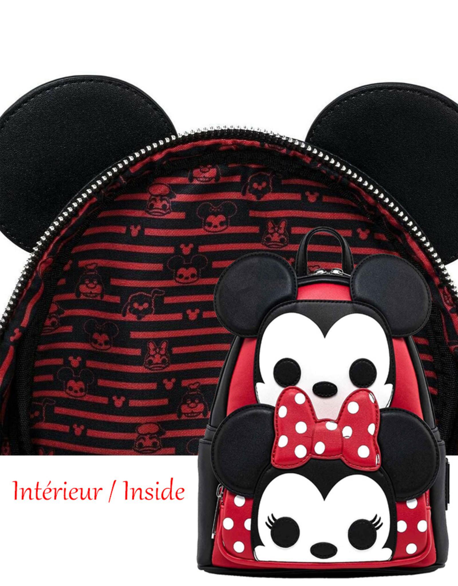 Disney Disney ( Loungefly Mini Backpack ) Mickey & Minnie
