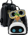 Disney Pixar ( Loungefly Mini Backpack )  Wall-E & Eve