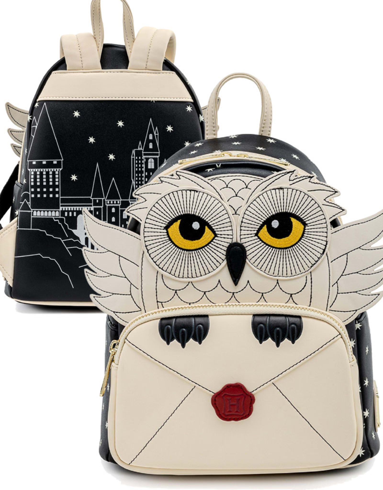 Harry Potter ( Loungefly Mini Backpack ) Hedwig Howler