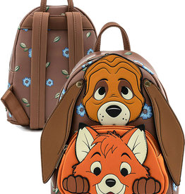 Disney ( Loungefly Mini Backpack )  The Fox and the Hound