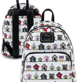 Disney ( Loungefly Mini Backpack )  Dogs Houses
