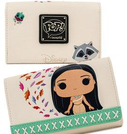 Disney ( Loungefly Wallet ) Pocahontas & Meeko
