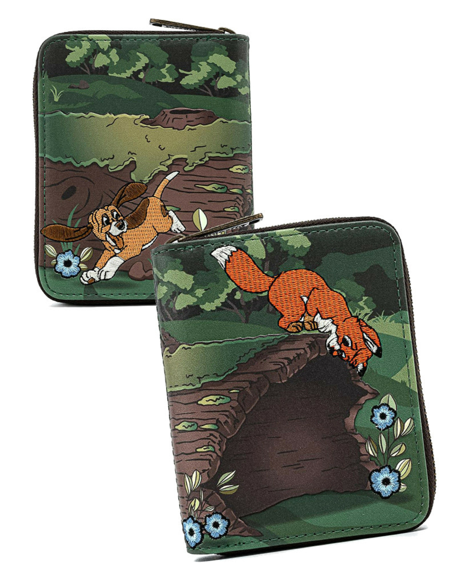 Disney ( Loungefly Wallet ) The Fox and the Hound