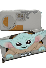 Star Wars ( Loungefly Wallet ) The Child '' GROGU ''
