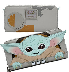 Star Wars ( Portefeuille Loungefly ) L' Enfant '' GROGU ''