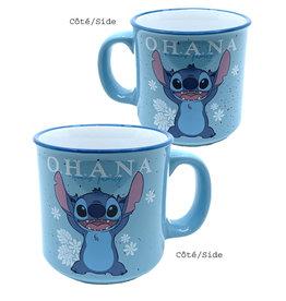 Disney ( Mug ) Stitch Ohana Means Family