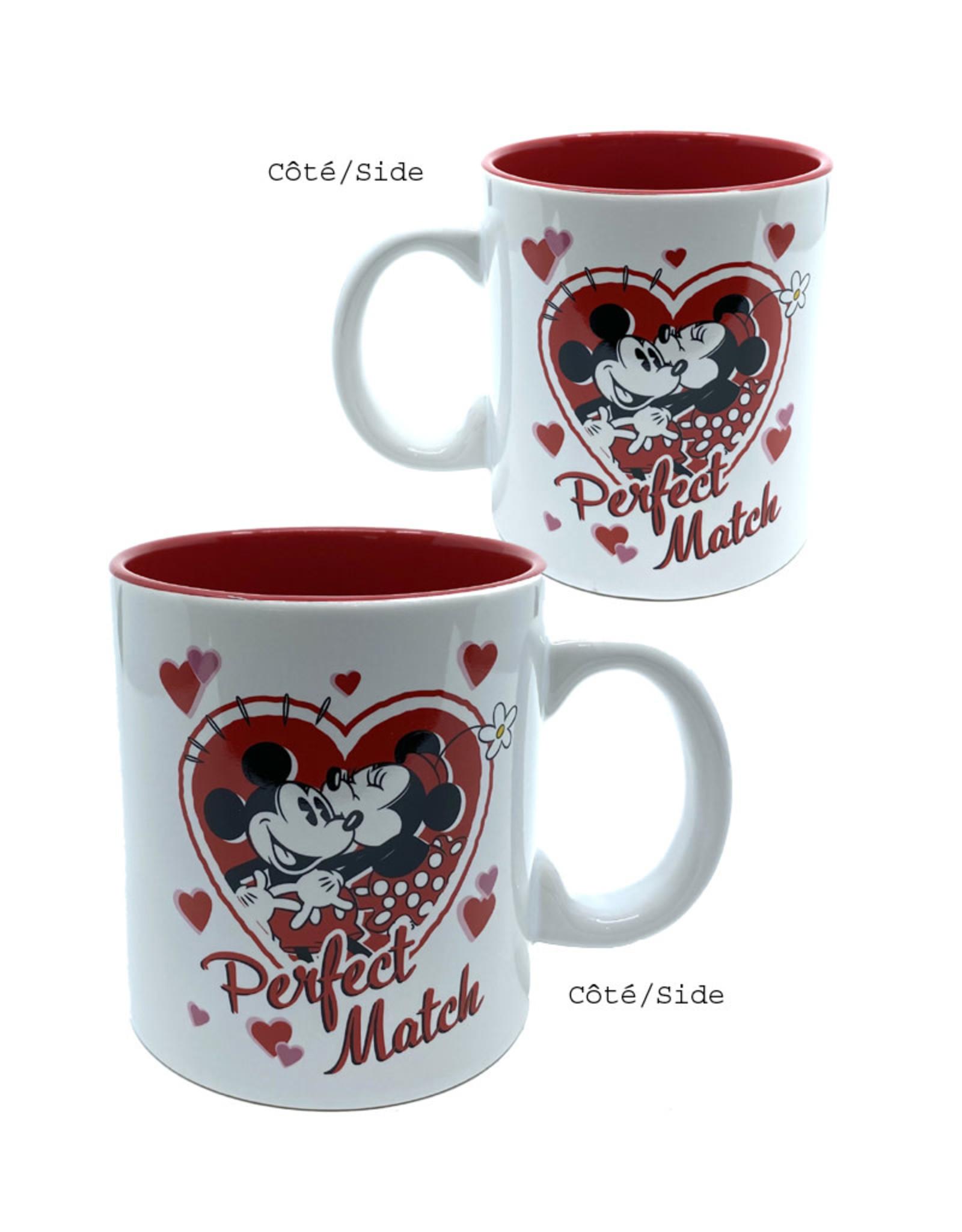 Disney ( Mug ) Mickey & Minnie Perfect Match