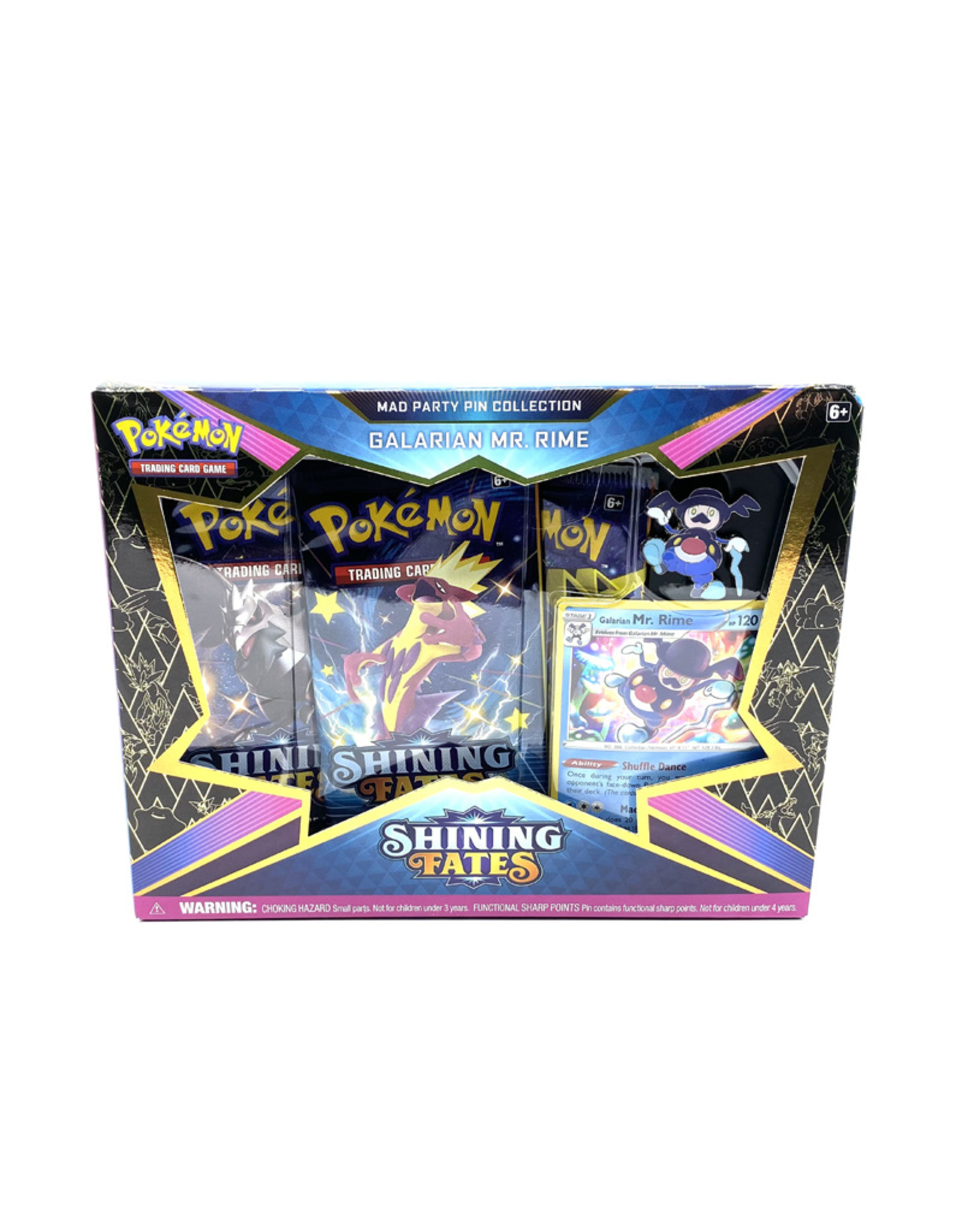 Pokemon ( Set of Cards ) Mad Party Pin Collection Shining Fates