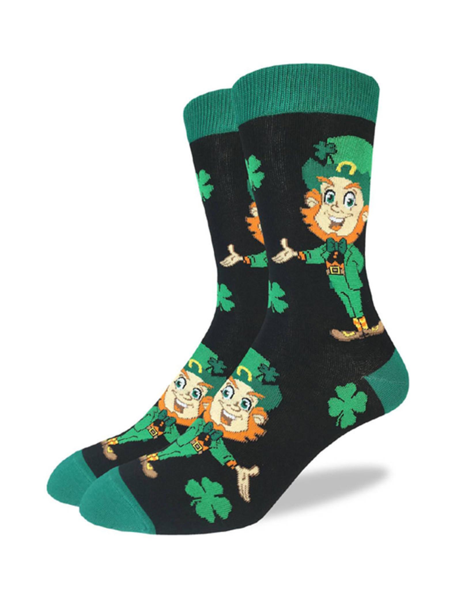St-Patrick's ( Good Luck Sock Socks ) Leprechaun
