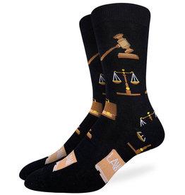 Justice  ( Bas Good Luck Sock )