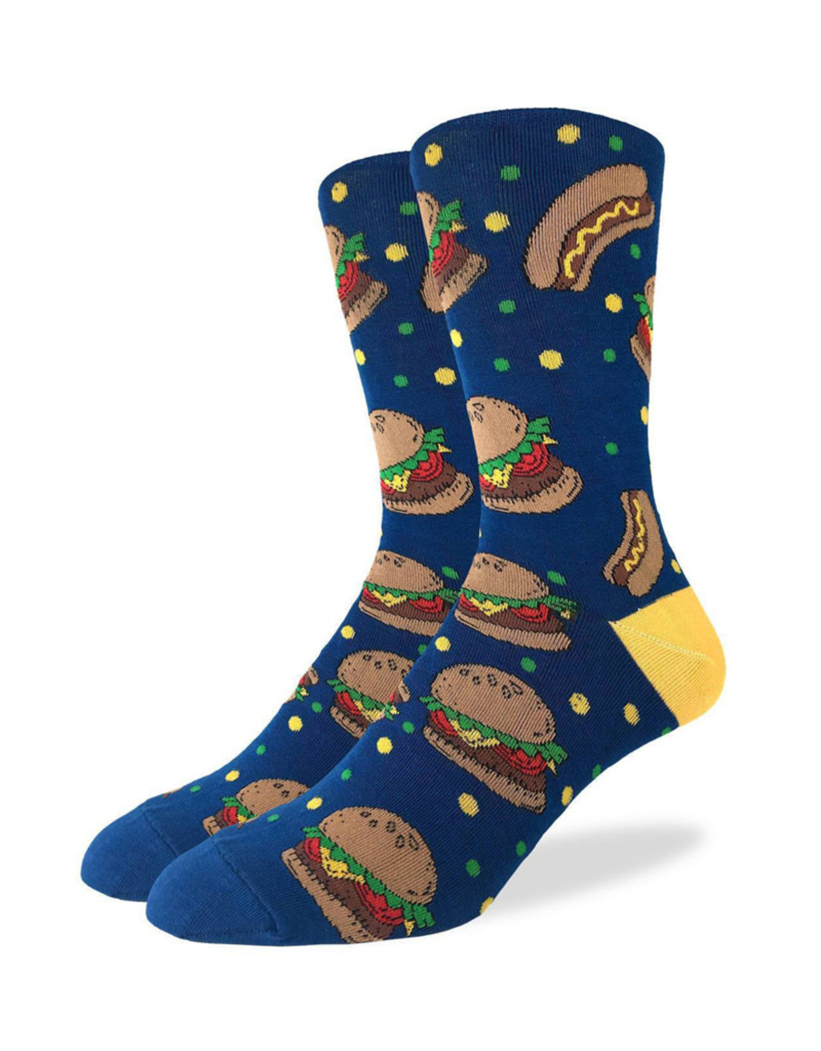 Burgers & Hot Dogs ( Good Luck Sock Socks )