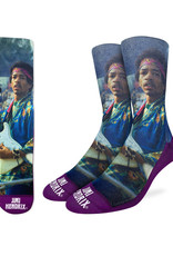 Jimi Hendrix  ( Good Luck Sock Socks )