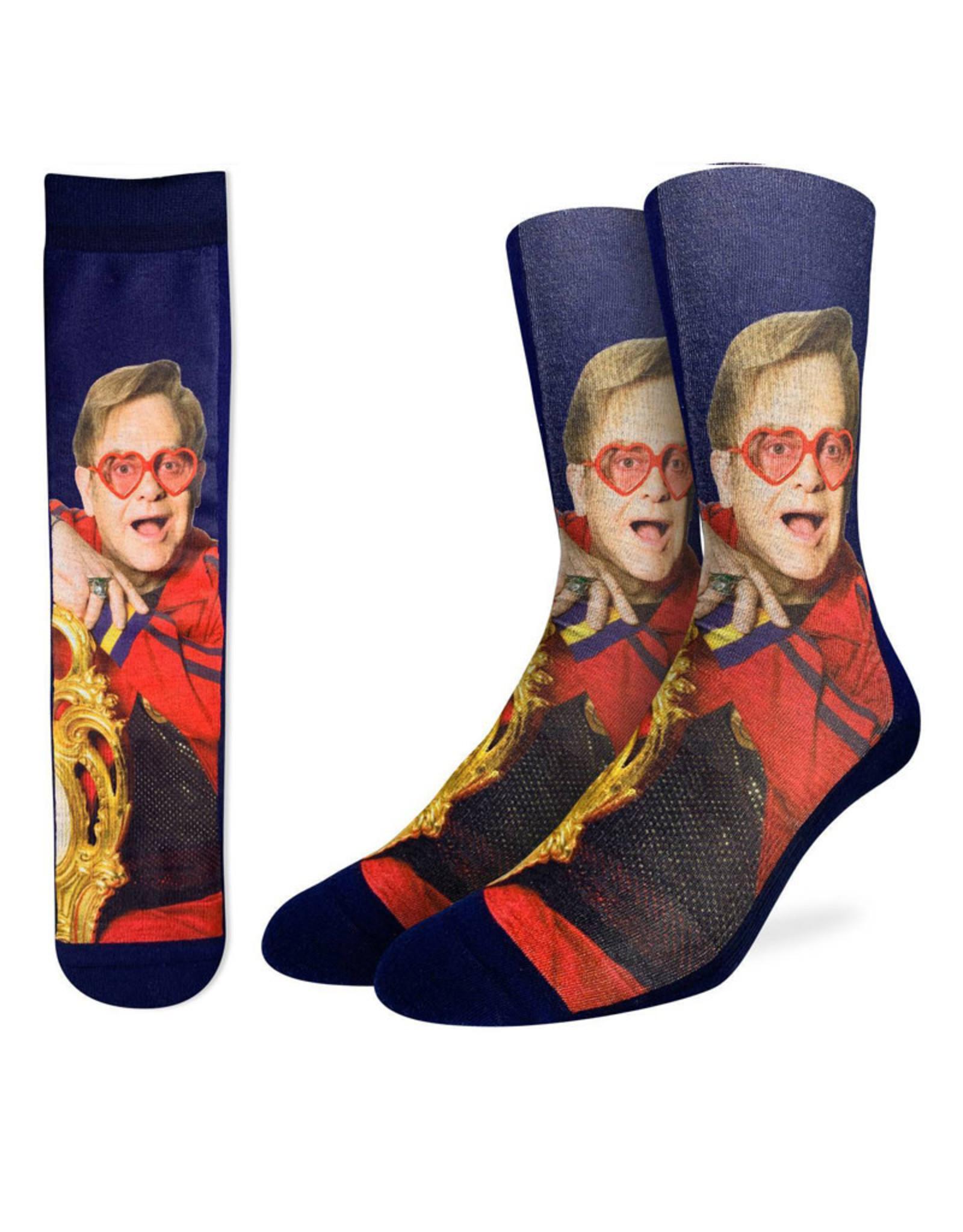 Elton John ( Good Luck Sock Socks )