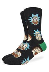Rick & Morty ( Good Luck Sock Socks )
