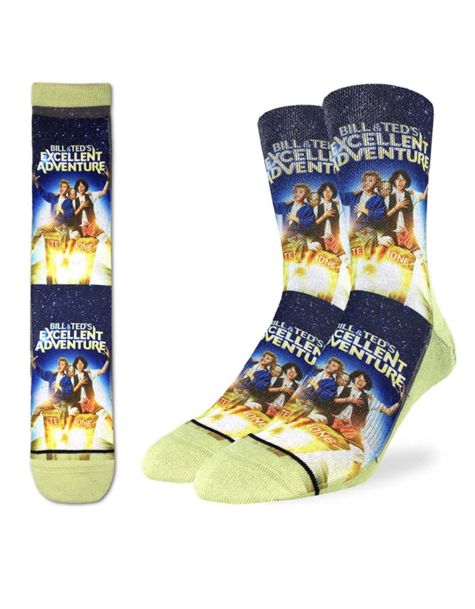 Bill & Ted's Excellent Adventure ( Good Luck Sock Socks )