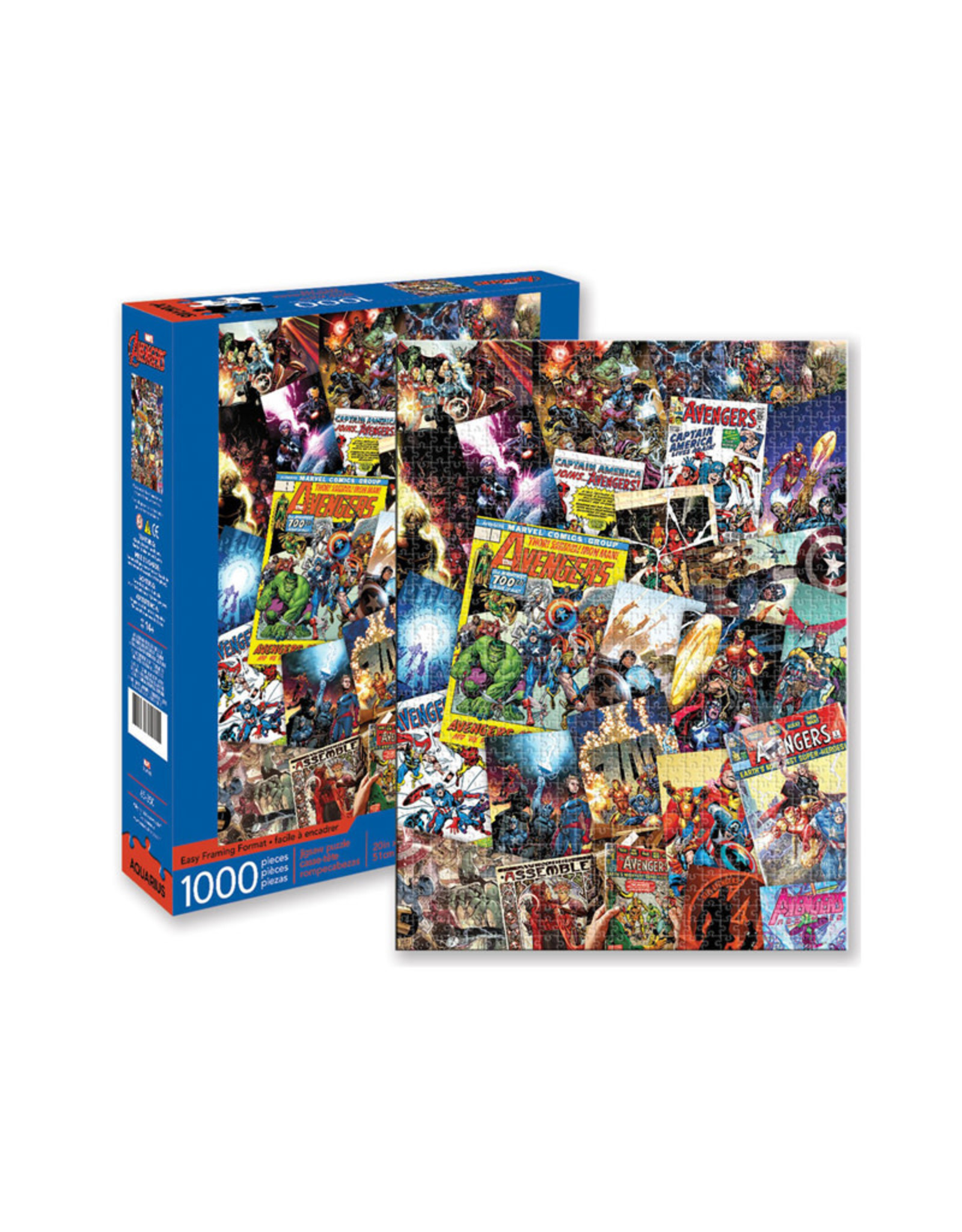 Marvel Marvel ( Puzzle ) Avengers Comic Book Covers