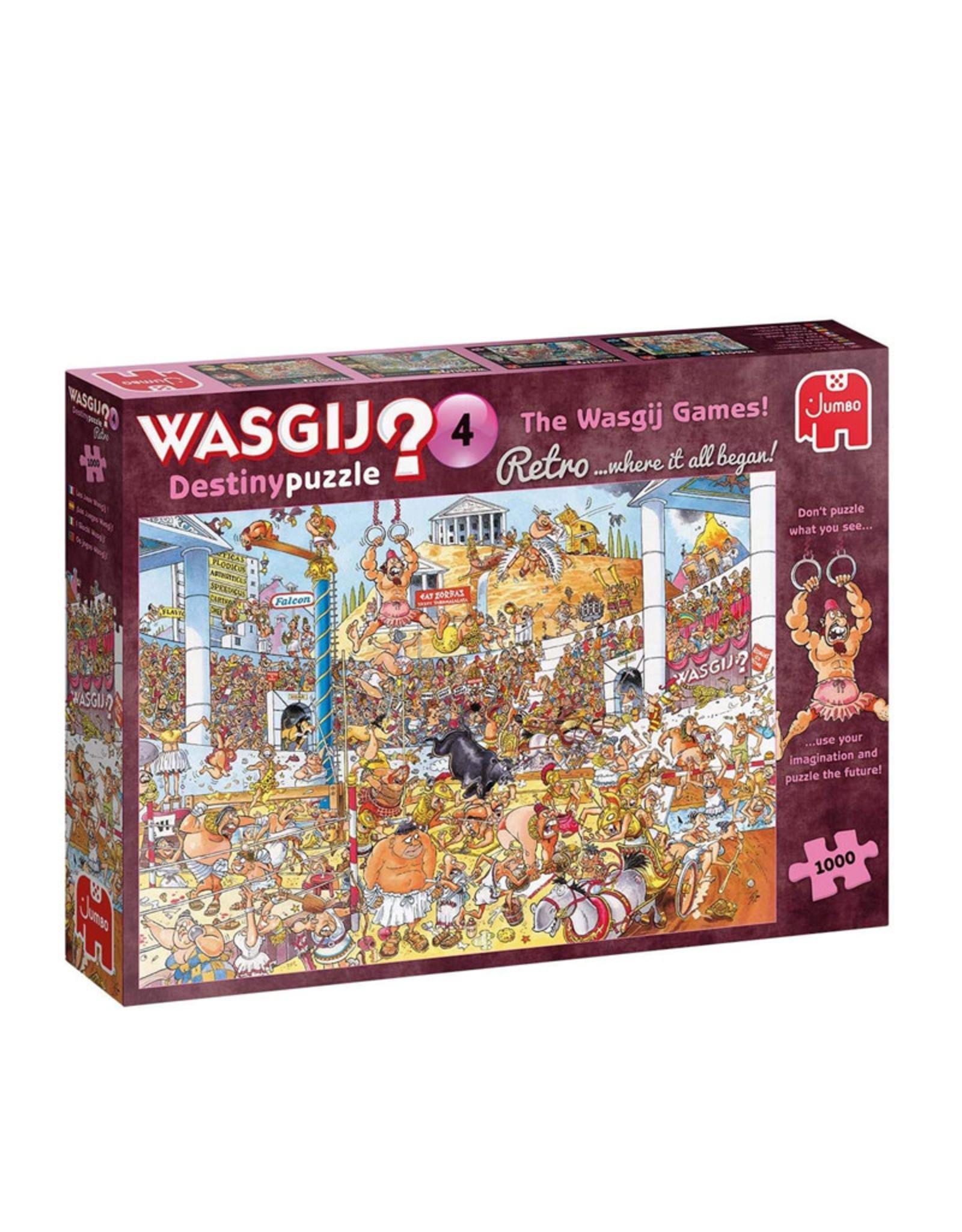 Wasgij? 4 ( Destiny Puzzle ) The Wasgij Games !