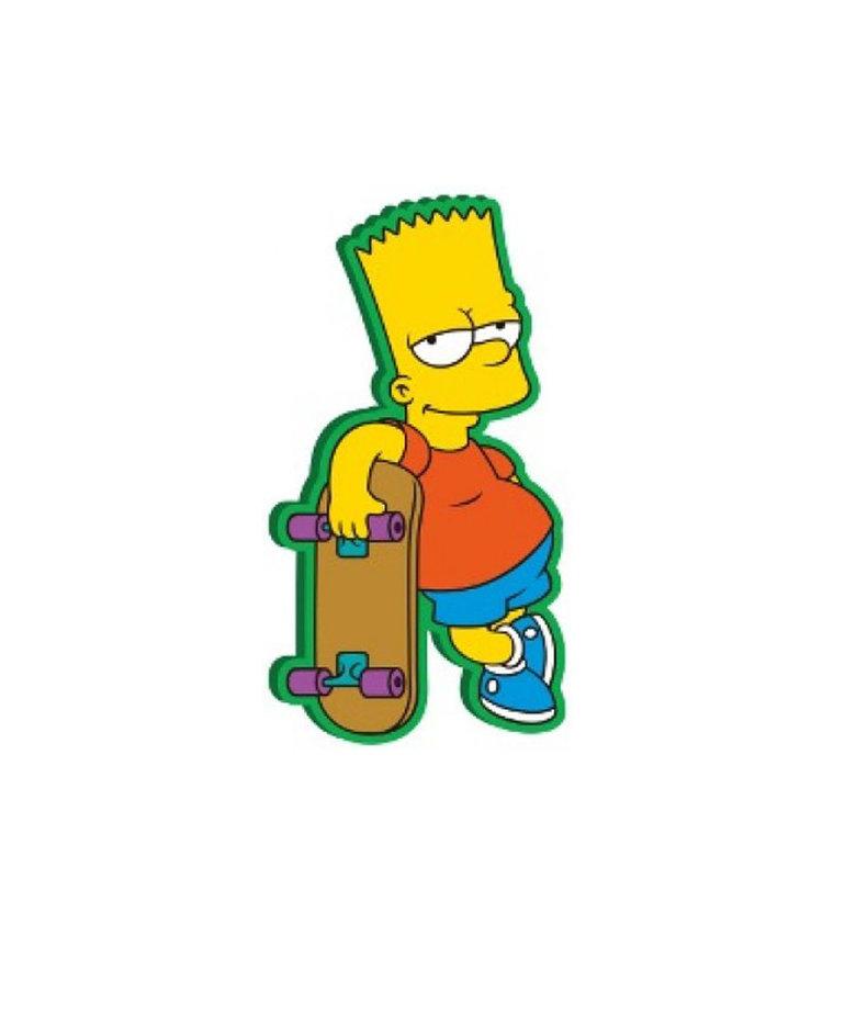 Simpsons ( Magnet ) Bart Skate