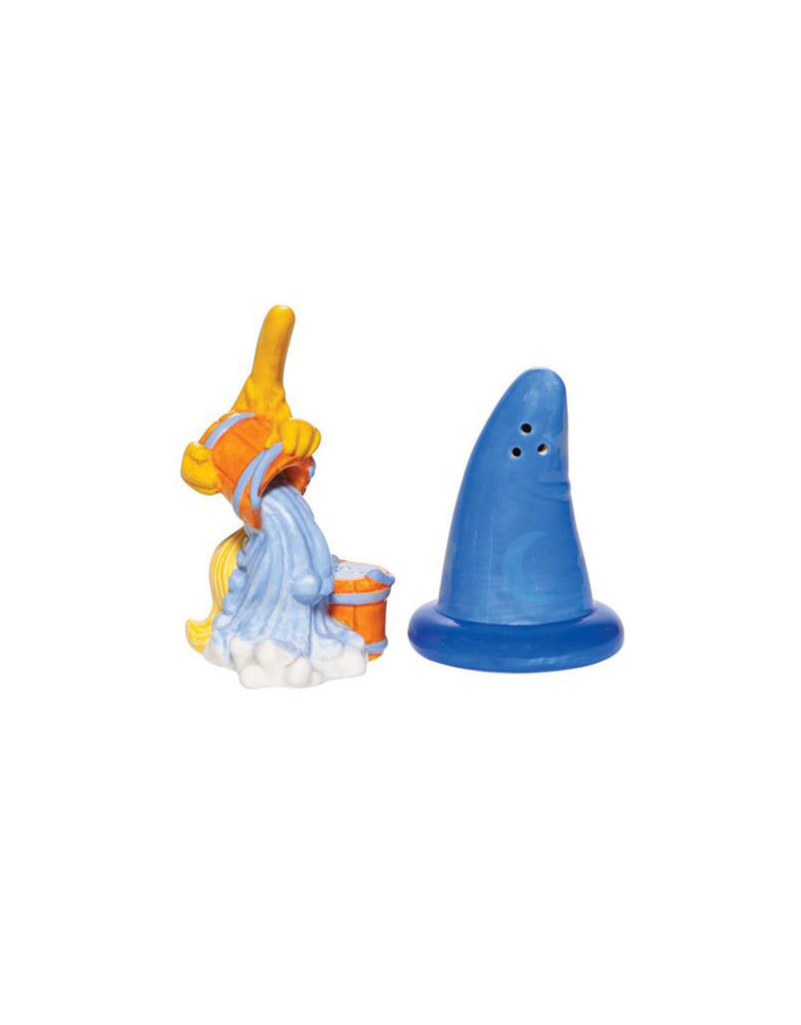 Disney Disney ( Salt & Pepper ) Sorcerer Hat & Broom