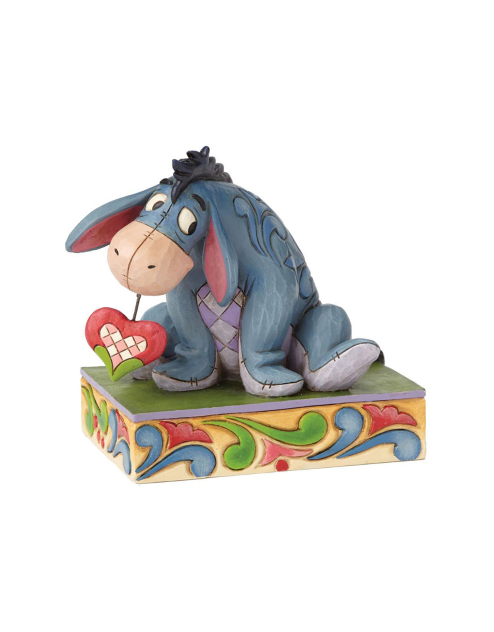 Disney ( Disney Traditions Figurine ) Eeyore with a Heart on a String