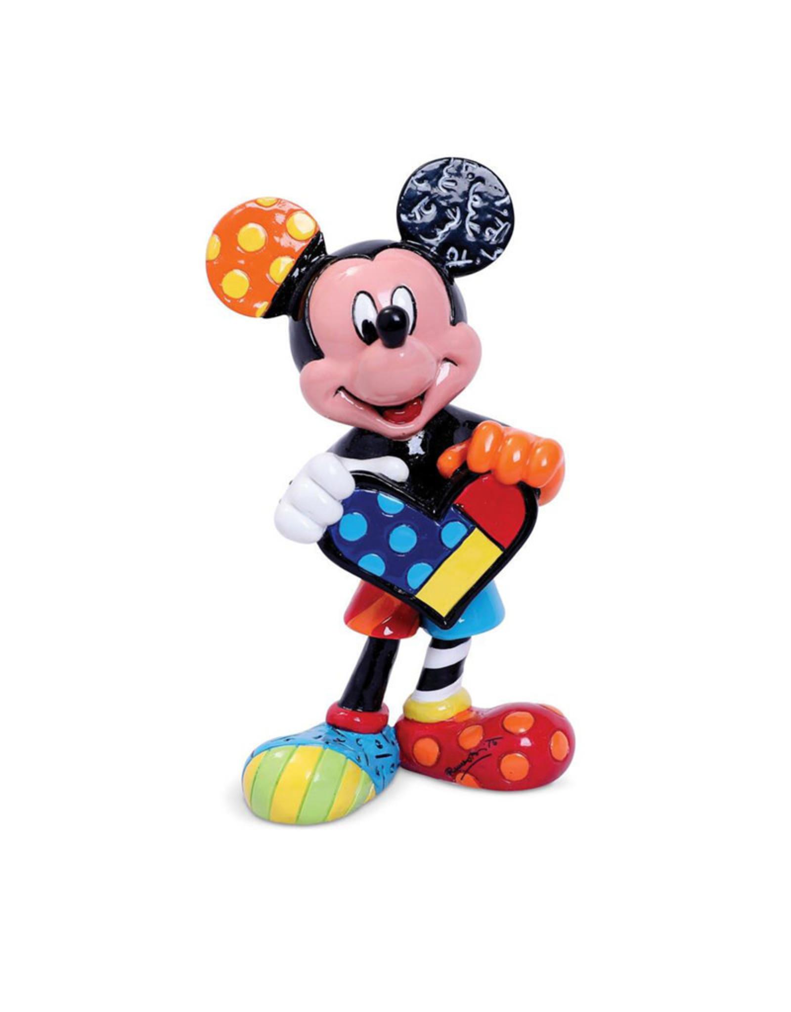 Disney ( Disney Britto Figurine ) Mickey Mouse Heart