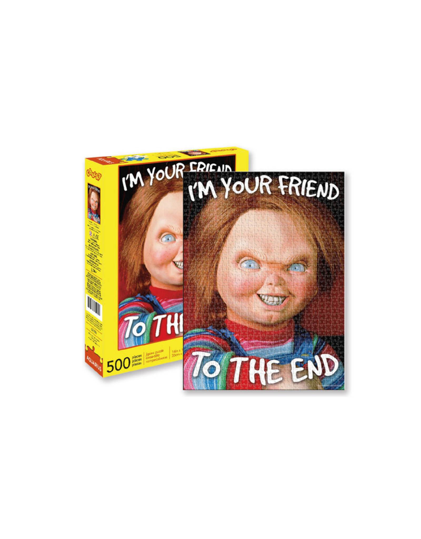 Chucky ( Puzzle ) I'm Your Friend To The End