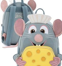 Disney ( Loungefly Mini Backpack ) Ratatouille Remy