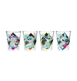 Disney ( Glass Set ) Stitch Colors