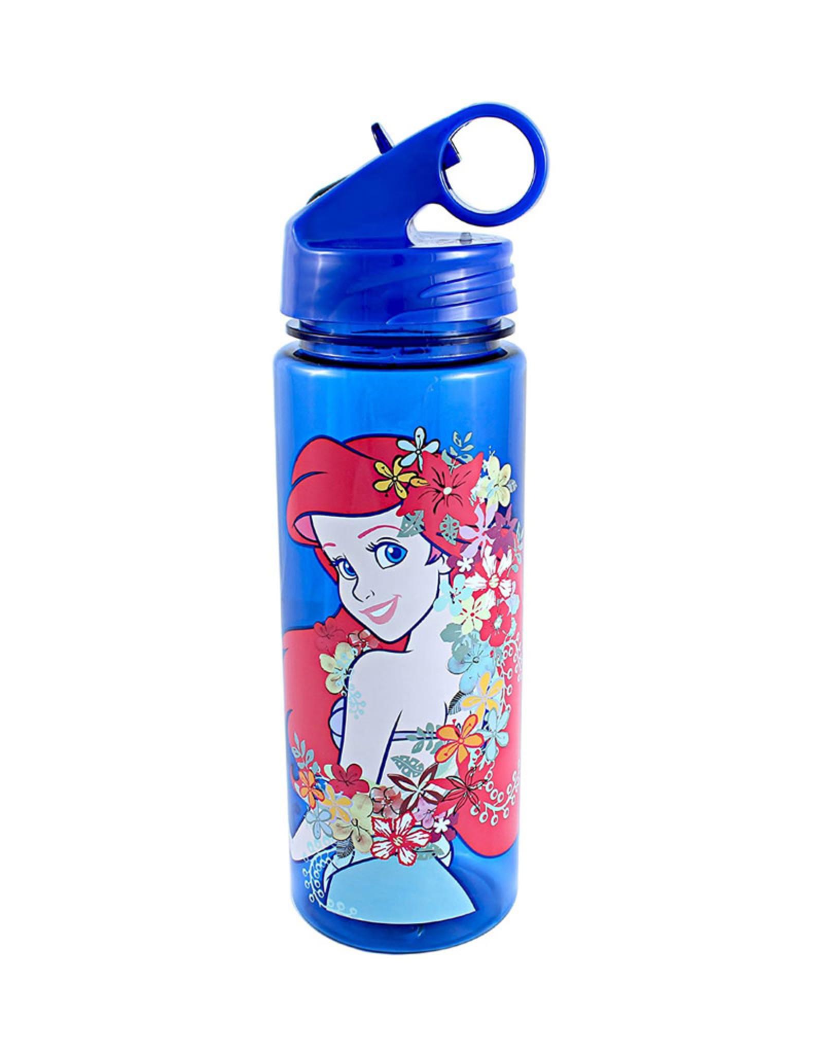 Disney ( Acrylic Bottle ) Ariel Flowers