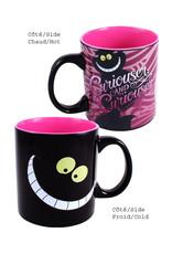 Disney ( Mug ) Cheshire Cat Curiouser and Curiouser