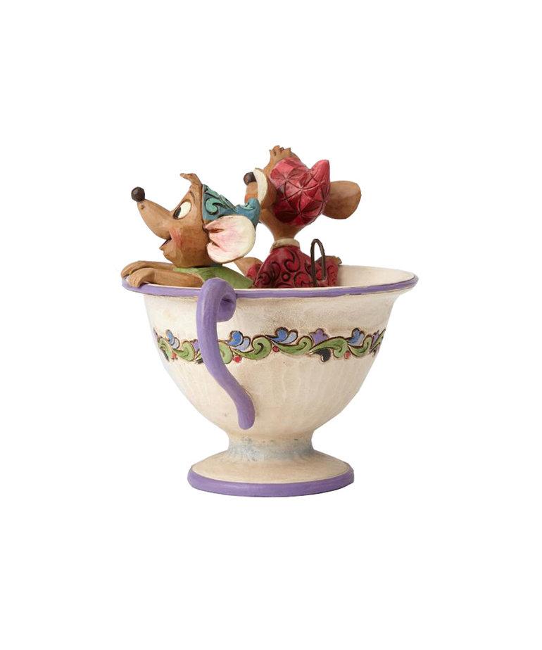 Disney Disney ( Disney Traditions Figurine ) Jaq & Gus Mug