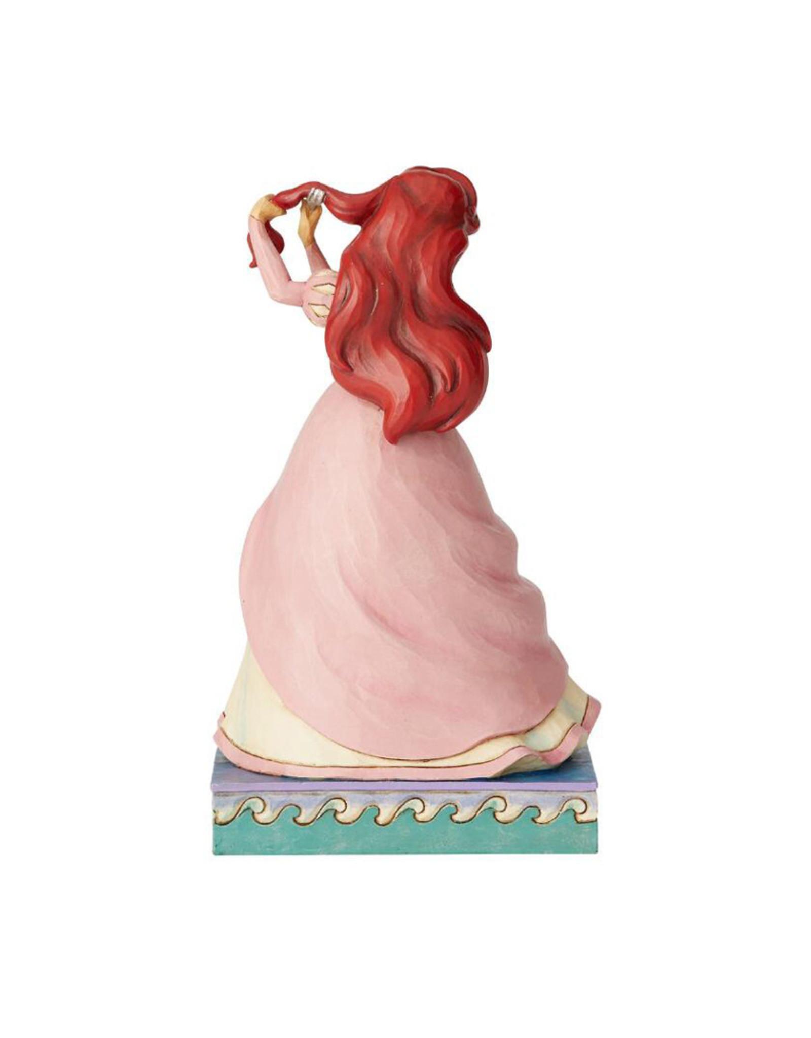 Disney ( Disney Traditions Figurine ) Ariel Pink Dress