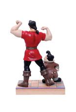 Disney Disney ( Disney Traditions Figurine ) Gaston & The Fool