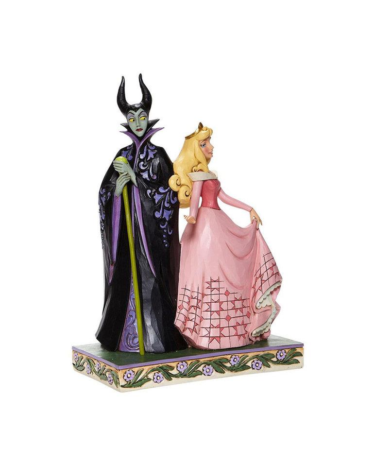 Disney Disney ( Disney Traditions Figurine ) Maleficent & Aurora