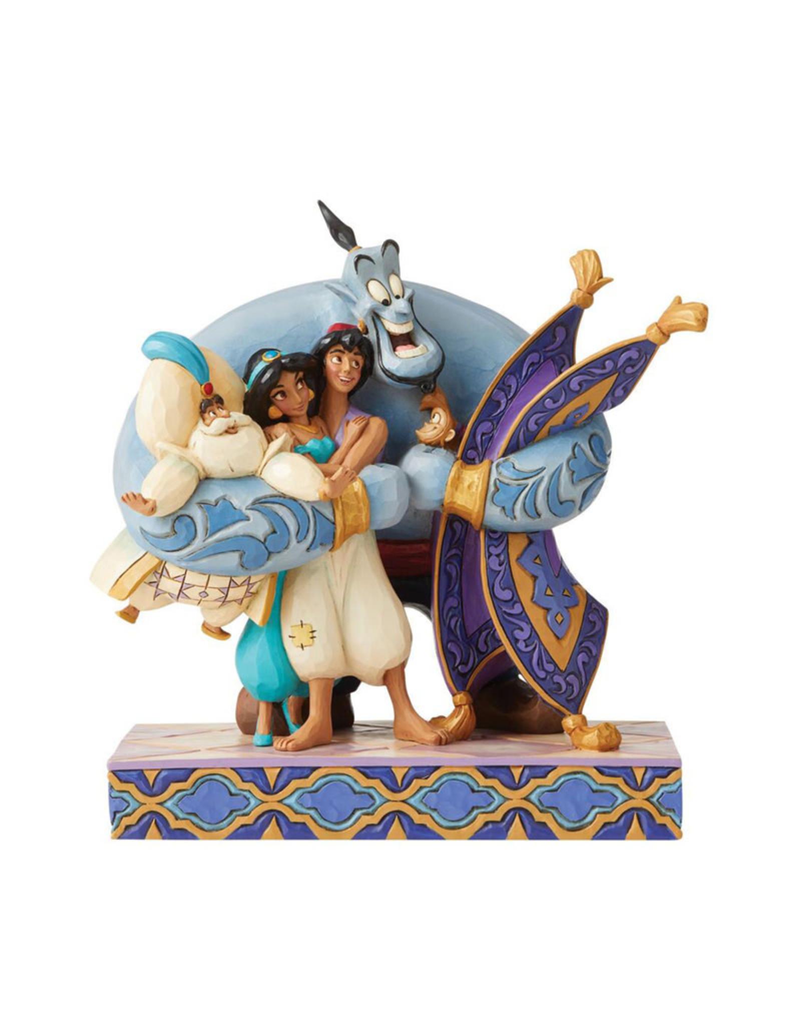 Disney Disney ( Disney Traditions Figurine ) Aladdin & Friends