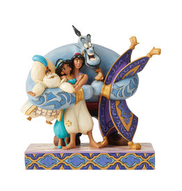 Disney Disney ( Figurine Disney Traditions ) Aladdin & Amis