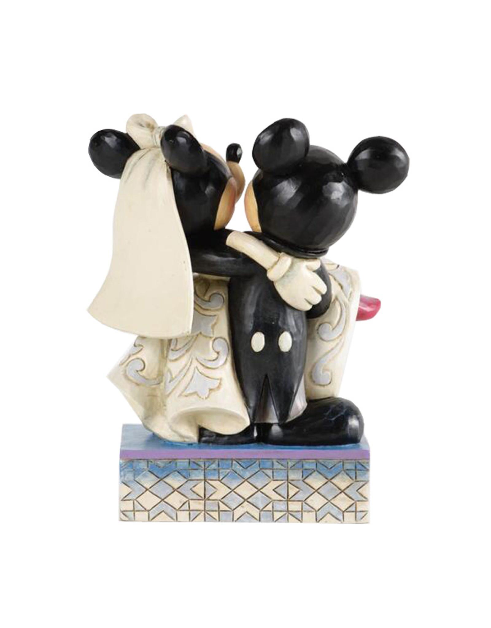 Disney Disney ( Disney Traditions Figurine ) Mickey & Minnie Wedding