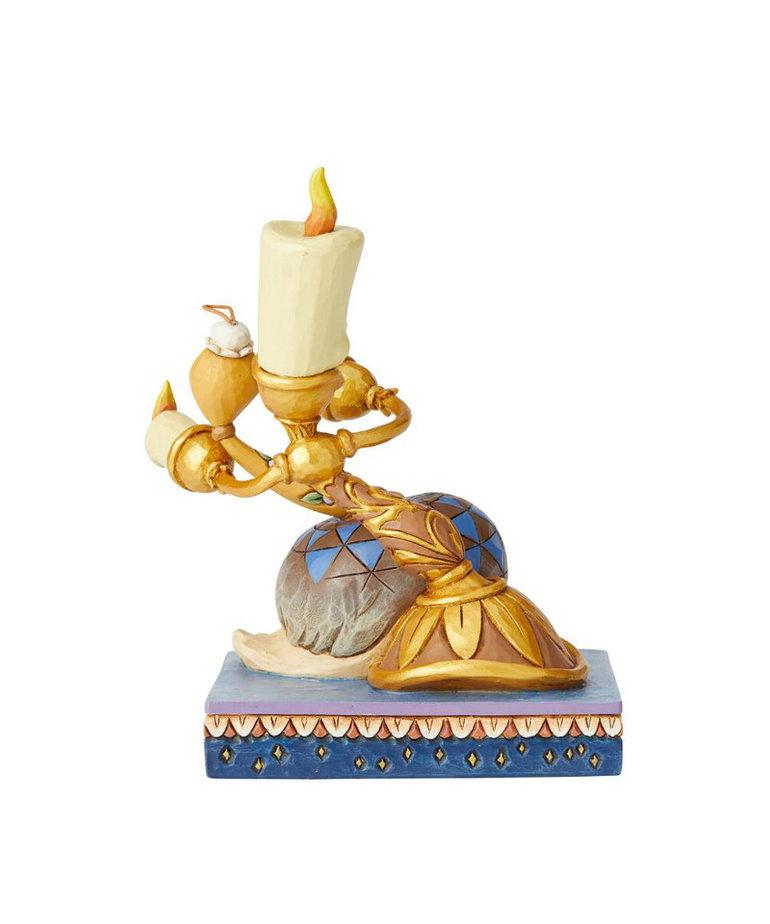 Disney Disney ( Disney Traditions Figurine ) Lumiere & Feather Duster